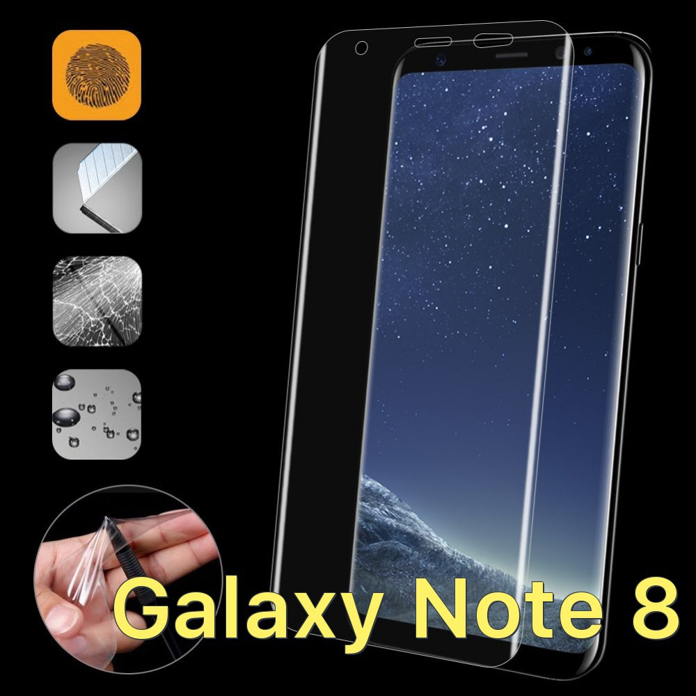 Dán dẻo full màn hình chống trầy xước dành cho Samsung Galaxy Note 8