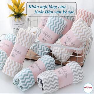 Khăn mặt Hàn Quốc cotton – Khăn Lông cừu siêu thấm nước