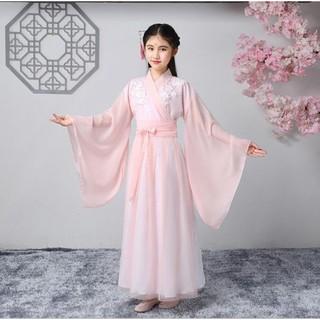 Váy Cổ Trang Trung Quốc Cho Bé Gái - Váy Công Chúa Nữ Có Size to