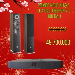 COMBO NGHE NHẠC LOA OBERON 7 C VÀ DALI HUB HÀNG CHÍNH HÃNG NEW 100% thumbnail