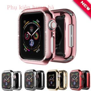 [Mã ELFLASH5 giảm 20K đơn 50K] ốp đính đá apple watch Ốp viền mặt Apple watch cực đẹp ..