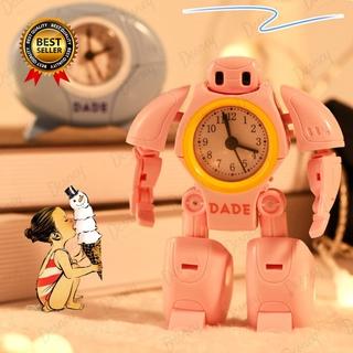 Đồng Hồ Báo Thức Hình Robot Đáng Yêu Cho Bé