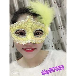(M10) mặt nạ lông vũ HK_T1