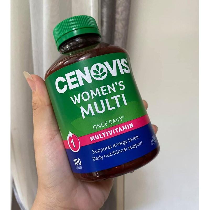Cenovis Women's Multi Vitamins 100 viên Úc Vitamin tổng hợp cho phụ nữ