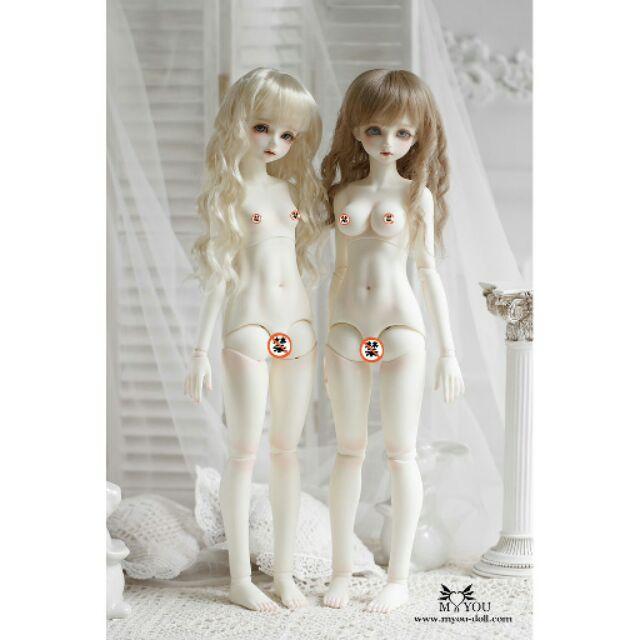 Thân búp bê khớp cầu (bjd body) myou doll nữ 1/4 (không kèm đầu búp bê)