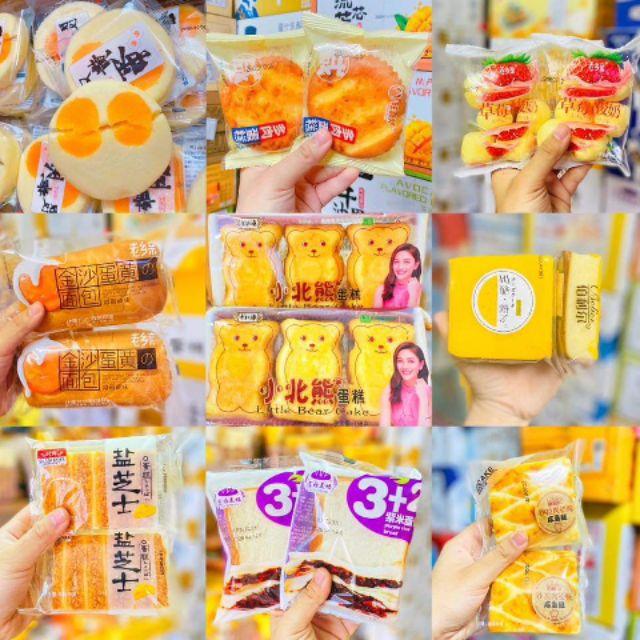 Bánh Mix Đài Loan Loại Ngon {35 vị}, Không Trùng Vị