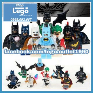 Xếp hình Batman Series Lego Minifigures Shenyang Sy683 thumbnail