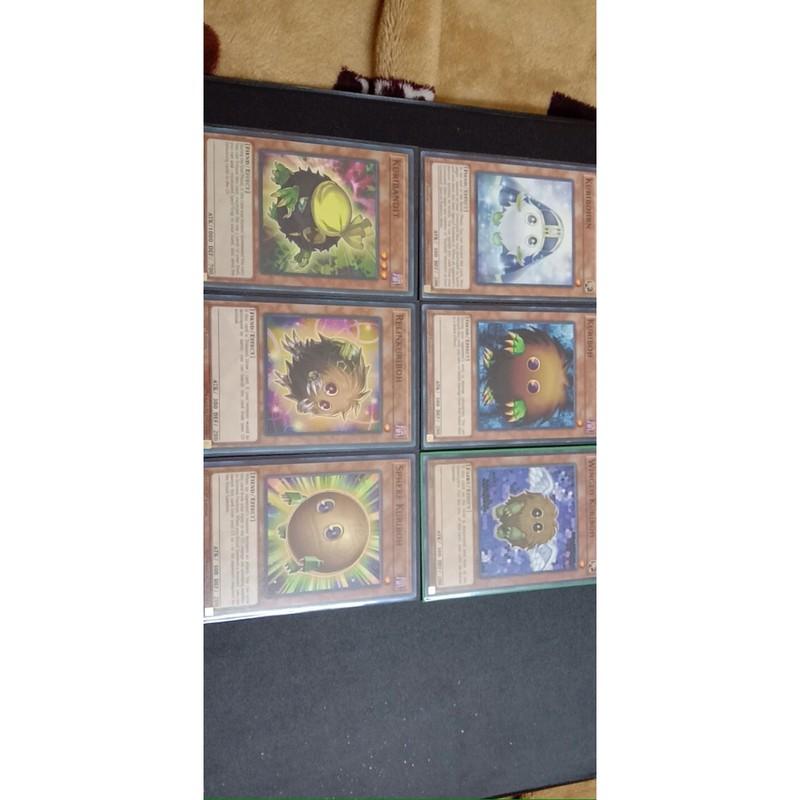 Set 6 lá kuriboh, Thẻ bài yugioh