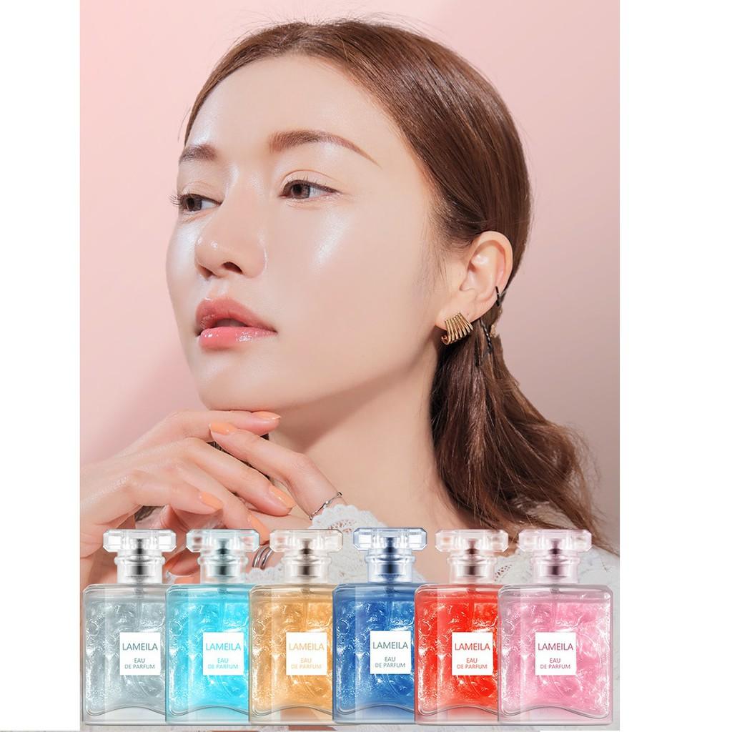 Nước Hoa Hương Tự Nhiên Lameila Quicksand Series Perfume, Xịt Thơm Toàn Thân Body Mist Lameila 50gr