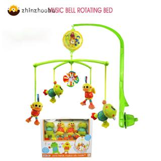 Music Rotating Bed Bell Mainspring Control Infant Puzzles Toy