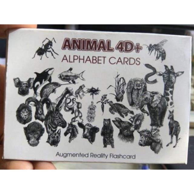 BỘ THẺ 4D ANIMALS