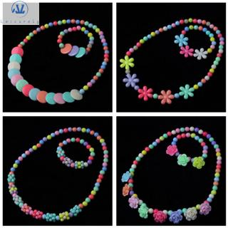 L1 1 Set Beautiful Resin Plastic Princess Jewelry Crafts Children Birthday Gifts Kids DIY Accessories Girl Beads Toys