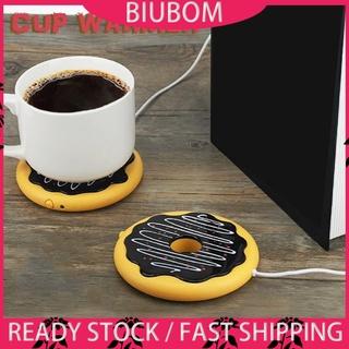 Đế hâm nóng cốc cà phê/trà sữa hình bánh Donut cổng USB