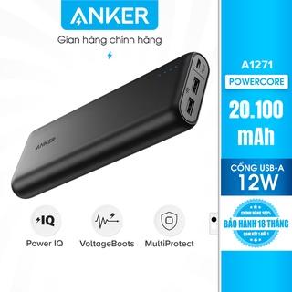 Pin sạc dự phòng ANKER PowerCore 20100mAh - A1271 thumbnail