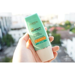Kem chống nắng Loreal UV Perfect Matte & Fresh