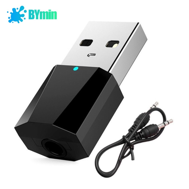 USB Bluetooth 4.2 Stereo Audio Transmitter for TV PC Bluetooth Speaker Headphone -TQ