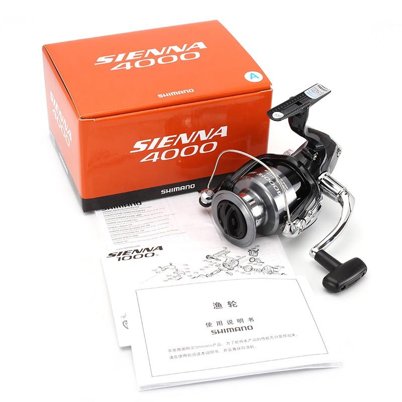 Máy câu cá Shimano Sienna Fe 4000 chính hãng bảo hành 3 tháng