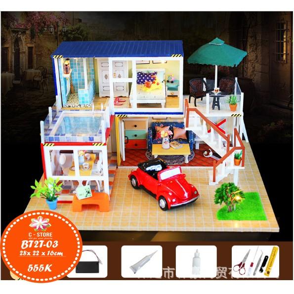 Mô hình biệt thự nhà búp bê container với xe đỏ và vườn cỏ - 2836277 , 155707269 , 322_155707269 , 555000 , Mo-hinh-biet-thu-nha-bup-be-container-voi-xe-do-va-vuon-co-322_155707269 , shopee.vn , Mô hình biệt thự nhà búp bê container với xe đỏ và vườn cỏ