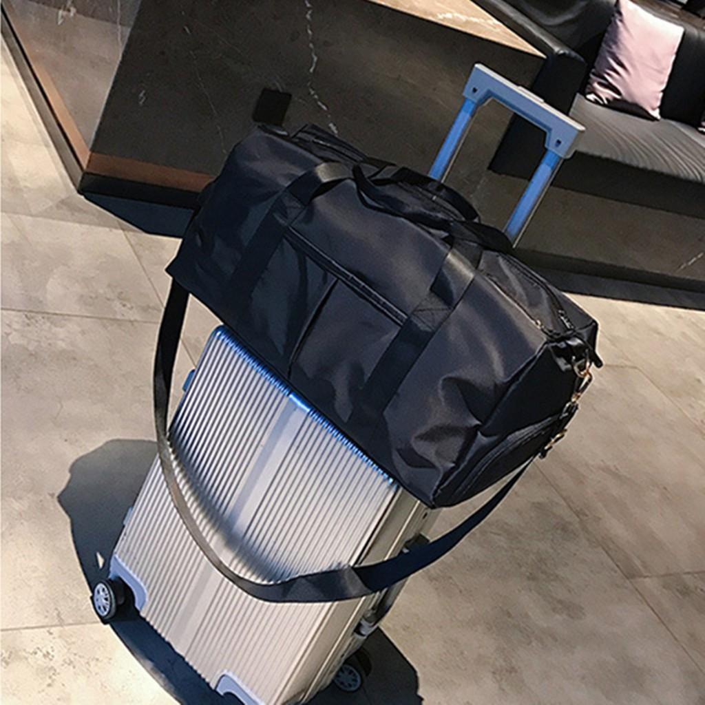 Túi xách đựng đồ du lịch cỡ lớn có quai đeo siêu chắc và ngăn chứa giày