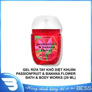 [Chính hãng] GEL RỬA TAY KHÔ PASSIONFRUIT & BANANA FLOWER BATH & BODY WORKS (29 ML)