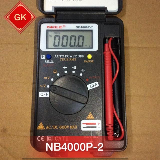 NB4000P-2, NB4000 đồng hồ vạn năng điện tử. - 3545403 , 1009710991 , 322_1009710991 , 185000 , NB4000P-2-NB4000-dong-ho-van-nang-dien-tu.-322_1009710991 , shopee.vn , NB4000P-2, NB4000 đồng hồ vạn năng điện tử.