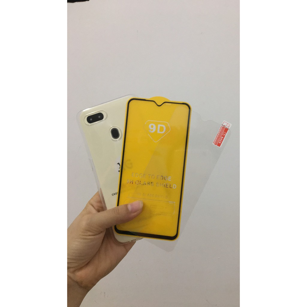 Combo Ốp Lung Silicon Oppo A5s + Kính Cường Lực Trong Giá Rẻ - 23054110 , 6700816031 , 322_6700816031 , 23000 , Combo-Op-Lung-Silicon-Oppo-A5s-Kinh-Cuong-Luc-Trong-Gia-Re-322_6700816031 , shopee.vn , Combo Ốp Lung Silicon Oppo A5s + Kính Cường Lực Trong Giá Rẻ