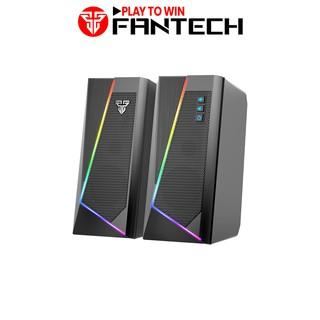 Loa Vi TÍnh Gaming Fantech GS204 RUMBLE LED RGB 7 Chế Độ Hỗ Trợ Kết Nối Bluetooth 5.0 Và AUX 3.5mm - Hàng Chính Hãng
