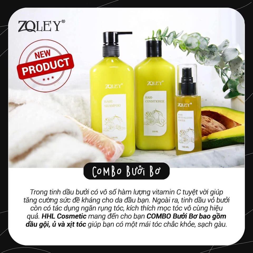 Ủ tóc ♥️FREESHIP♥️ Kem ủ tóc Bưởi & Bơ Zoley  làm giảm hư tổn giúp tóc khỏe hơn, dày dặn, bóng mượt