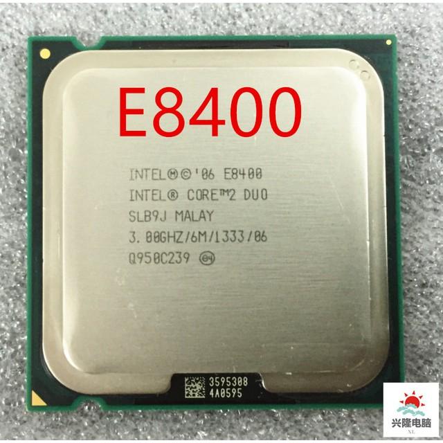CPU E8400 socket 775 cho các dòng main G31 G41
