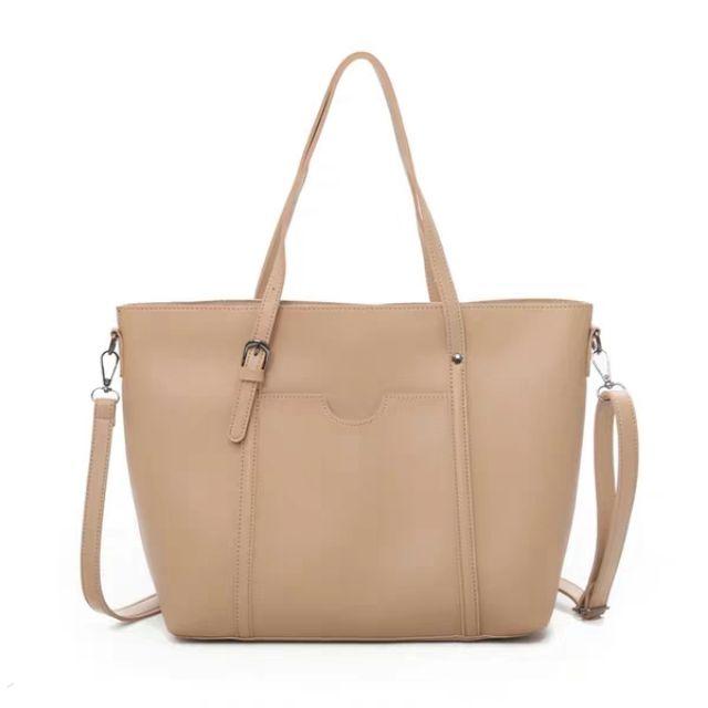 Túi xách nữ công sở thời trang size to (vừa a4)