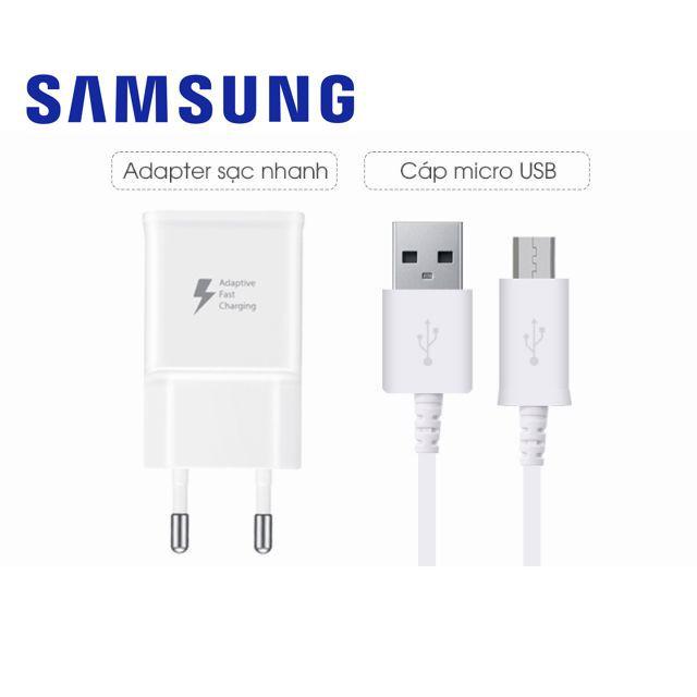 Bộ sạc cáp sạc nhanh ( Fast Charging ) Samsung Micro USB