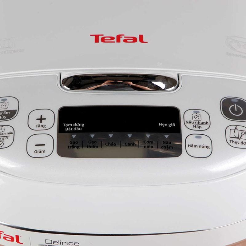 Nồi cơm điện tử lòng niêu Tefal 1.8 Lít RK752168 - GD.Tefal.NoiComRK752168