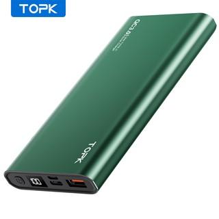 Hình ảnh Pin Dự Phòng TOPK I1006P 18W QC3.0 10000mAh Sạc Nhanh Hiển Thị Điện Tử-0