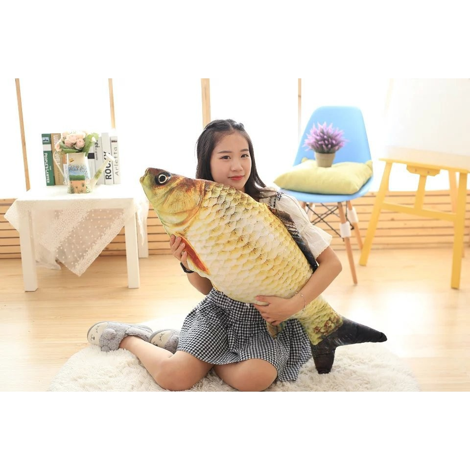 Gối ôm cá chép dài 1m
