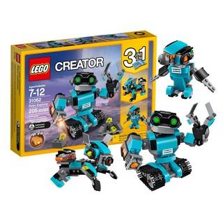 LEGO Xe Rô Bốt Thăm Dò – LEGO Creator 31062 (205 Mảnh Ghép) [Chính Hãng, New Sealed]