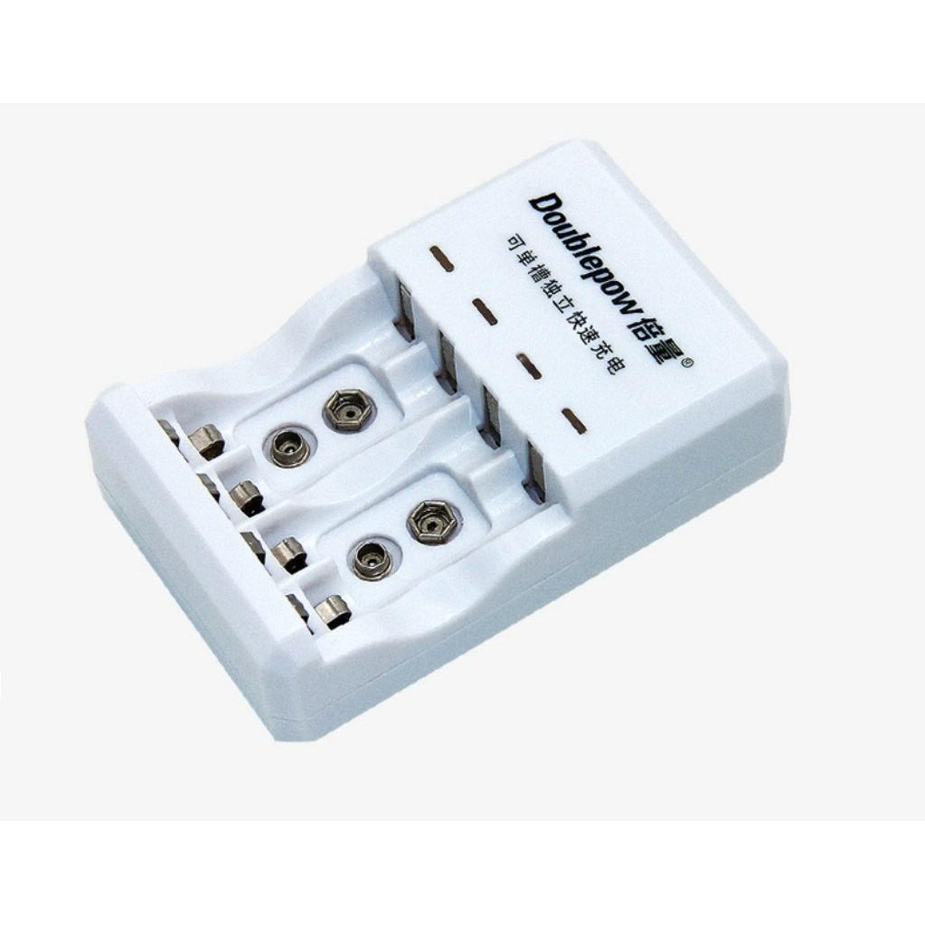 Bộ Sạc Pin đa năng Doublepow DP-D03 (sạc pin 9V, pin tiểu AA, pin đũa AAA) - 2951407 , 984035853 , 322_984035853 , 139000 , Bo-Sac-Pin-da-nang-Doublepow-DP-D03-sac-pin-9V-pin-tieu-AA-pin-dua-AAA-322_984035853 , shopee.vn , Bộ Sạc Pin đa năng Doublepow DP-D03 (sạc pin 9V, pin tiểu AA, pin đũa AAA)