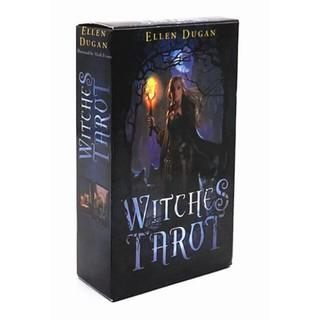Bộ bài Witches Tarot H3 +Tặng File Hướng Dẫn và Khăn thumbnail