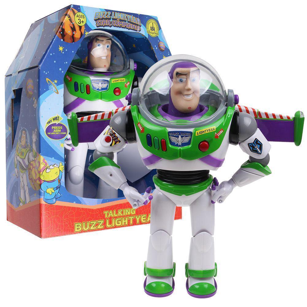 """【READY STOCK】Câu chuyện đồ chơi 30cm 12 """"Buzz Lightyear Hành động nói chuyện tuyệt đỉnh Hình đồ chơi trẻ em Quà tặng"""