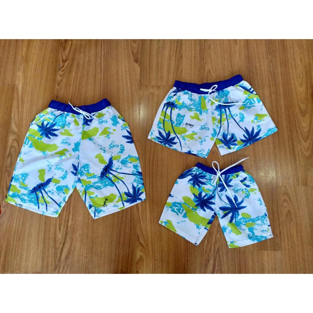 Quần đi biển nam nữ vải dù loại 1 nhiều màu sắc đủ size 6-85ky