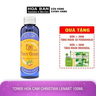[Có Bill] Toner Hoa Cam Christian Lenart 100ml