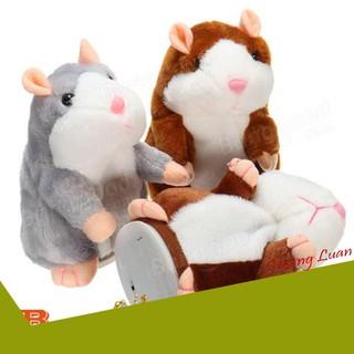 [SIÊU UU ĐÃI] Đồ chơi Chuột Hamster biết nhại biết nói biết nhảy chất lượng cao – Talking Hamster