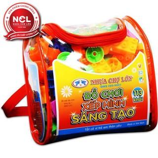 Đồ chơi xếp hình trẻ em Nhựa Chợ Lớn 01 – M967-LR