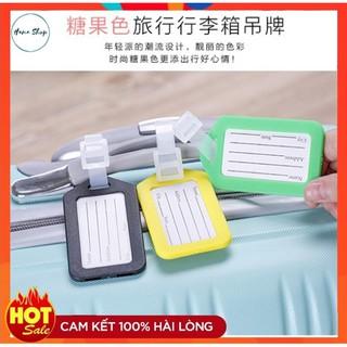 Thẻ đeo hành lý tiện dụng bằng nhựa thumbnail