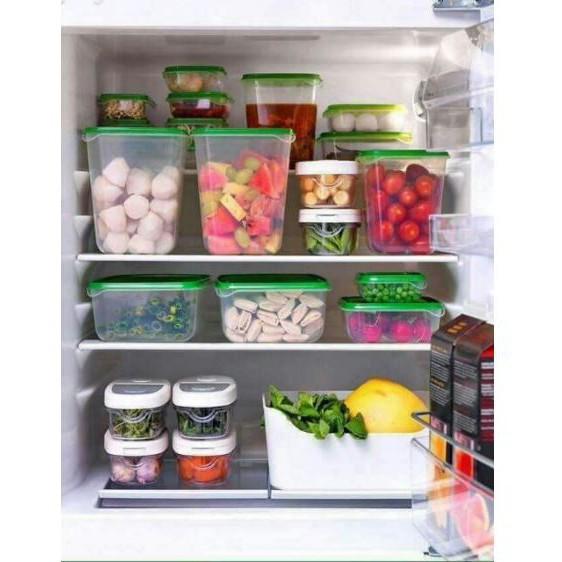 [ĐẠI HẠ GIÁ] SET 17 HỘP ĐỰNG THỨC ĂN nhựa pp an toàn sức khỏe để tủ lạnh hoa quả thực phẩm