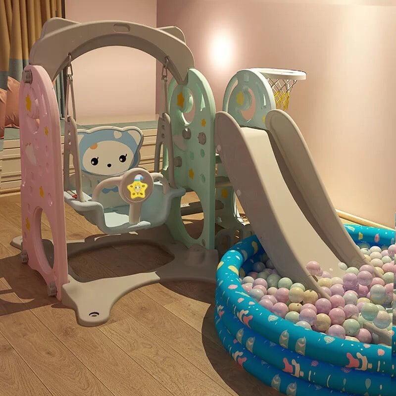 Cầu Trượt Xích Đu Hello Kitty Siêu Chắc Chắn