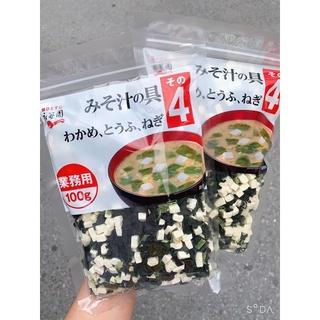 Rong biển Đậu hũ nấu canh Nhật Bản gói 100g
