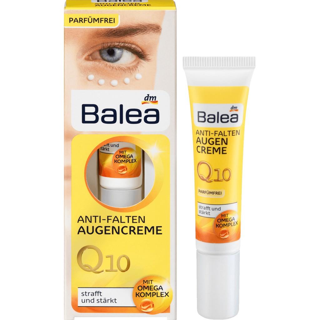 Kem dưỡng da vùng mắt Balea Anti Falten Augencreme Q10