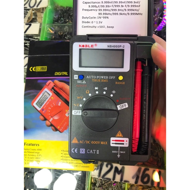 Đồng hồ đo vạn năng Noble NB 4000P-2 - 3365432 , 763740497 , 322_763740497 , 200000 , Dong-ho-do-van-nang-Noble-NB-4000P-2-322_763740497 , shopee.vn , Đồng hồ đo vạn năng Noble NB 4000P-2