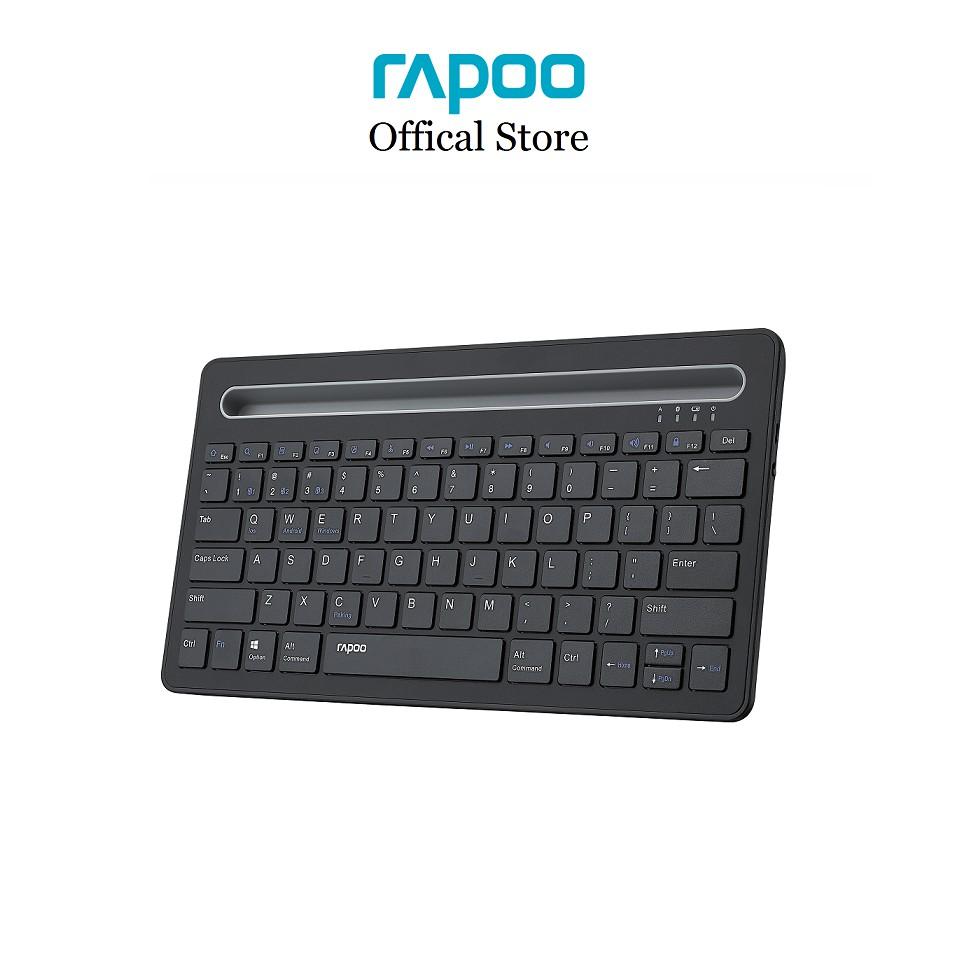 Bàn phím Bluetooth Rapoo XK100 - Kết nối đa thiết bị