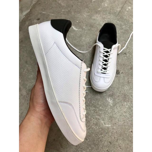 Giày sneaker nam thời trang ( Da bò thật)